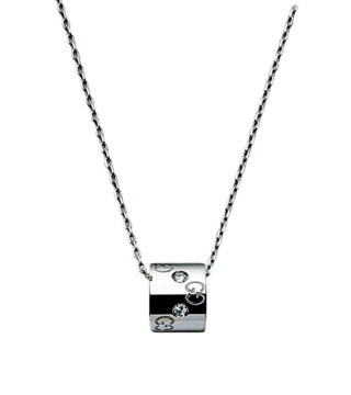 ICON系列铂金吊坠项链