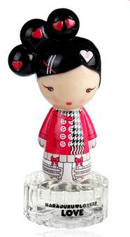 原宿情人爱心娃娃女用香水