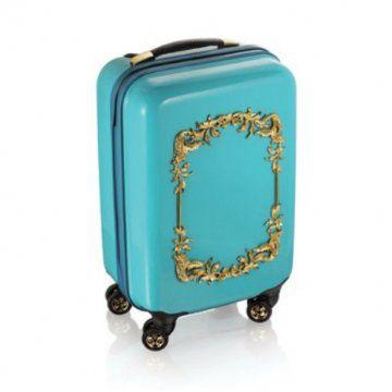 AdR for系列蓝色浮雕拉杆箱