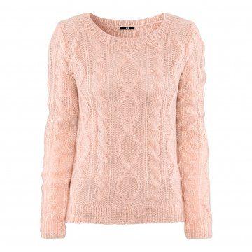 粉红色毛衣