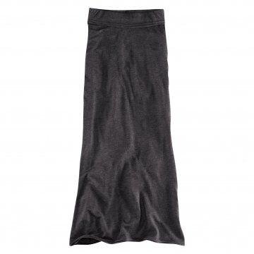 Divided Grey系列深灰色针织及踝长裙