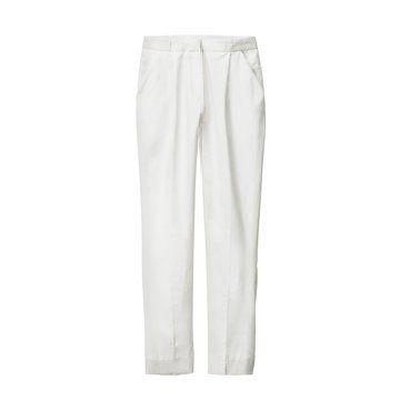 白色西装长裤