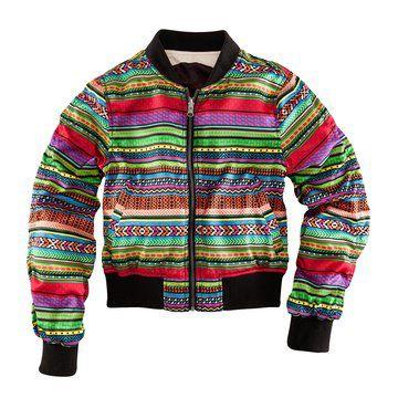 FAA系列非洲风格彩色夹克