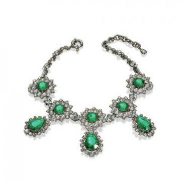 AdR for 系列绿宝石项链
