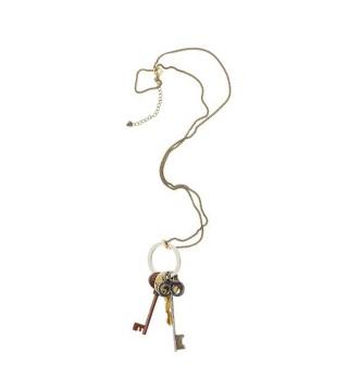 仿旧钥匙坠饰项链