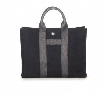 bi-material系列Harnais小号手提包