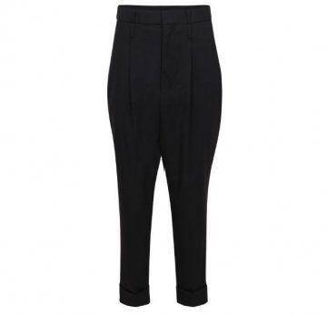 低裆西装长裤