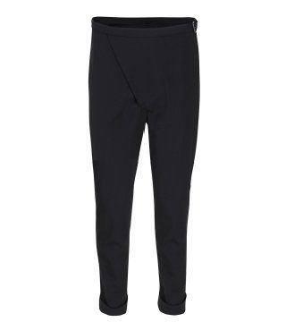 黑色修身裤