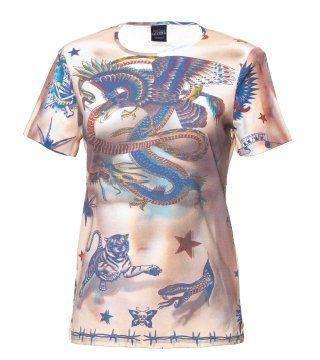 动物图腾T恤