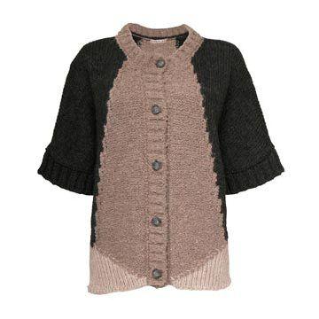 米色羊毛针织衫