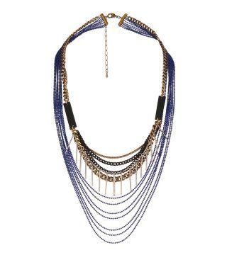 链条珠串项链