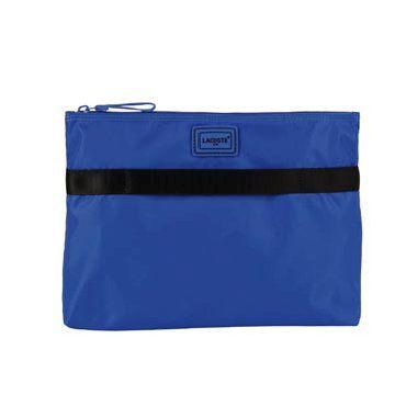 蓝色尼龙手拿包