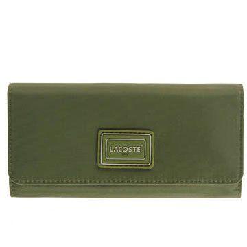 军绿色帆布钱包
