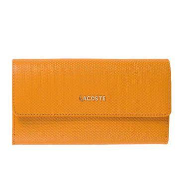 明黄色皮革钱包