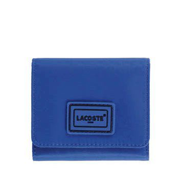 蓝色帆布钱包