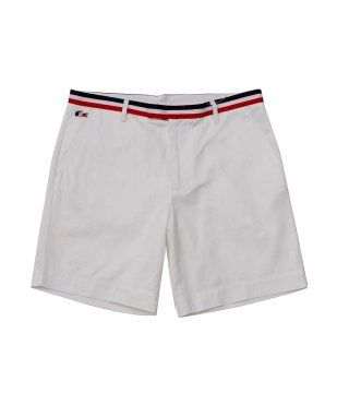 白色休闲短裤