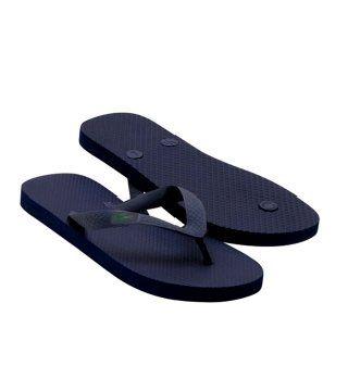 Barona藏蓝色拖鞋