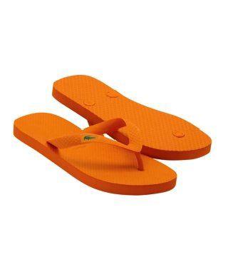 Barona橙色拖鞋