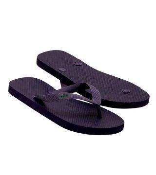 Barona紫黑色拖鞋