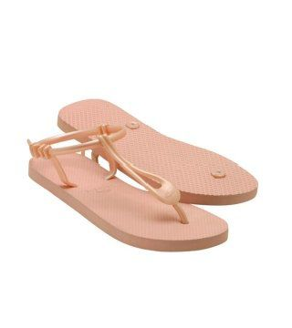 Lemara肉色橡胶凉鞋