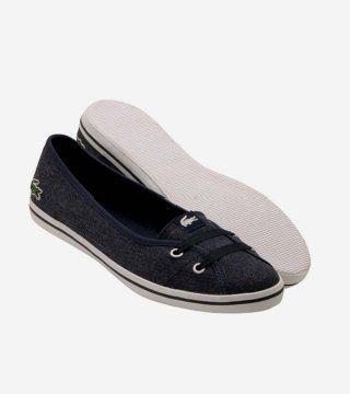 Marcel深蓝色芭蕾鞋