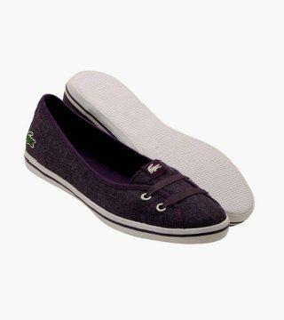 Marcel紫色芭蕾鞋