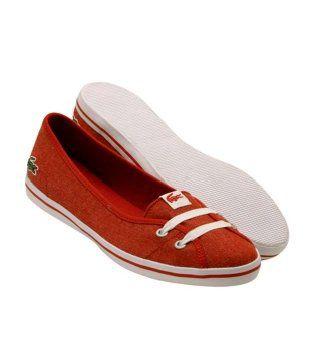 Marcel红色芭蕾鞋