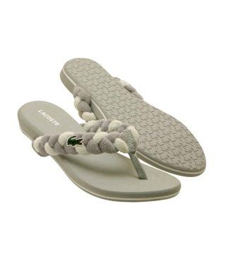 Suzy灰色夹脚拖鞋