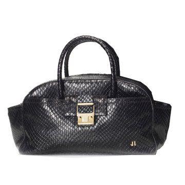 黑色蛇皮手提包