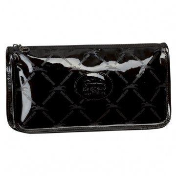 黑色漆皮系列方形手包
