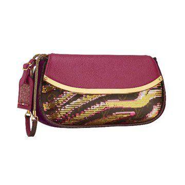 2011春夏新款时尚杂志推荐模特走秀款粉红色女士手包晚宴包