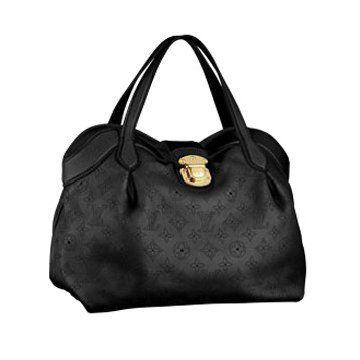 2011春夏新款Cirrus黑色印花小牛皮小号女士手袋单肩包