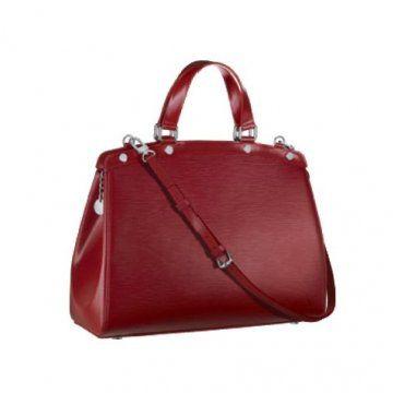 红宝石色Brea大号手袋