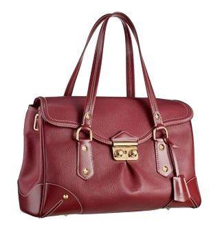 酒红色LAbsolu手提包