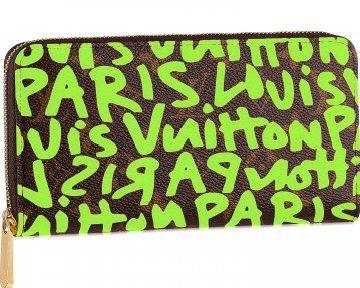 09春夏Monogram Graffiti帆布系列拉链钱包