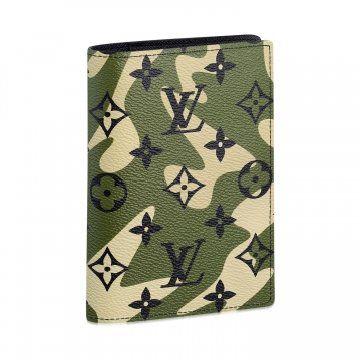 Monogramouflage帆布系列护照夹