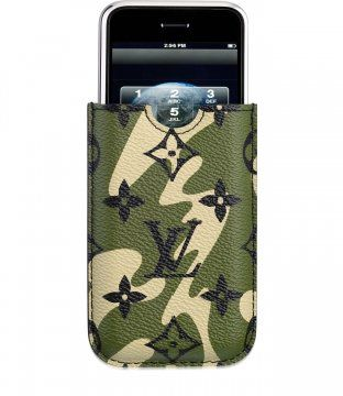 Monogramouflage帆布系列iPod和iPhone保护套