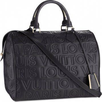 08冬季系列Louis Vuitton Paris Speedy Cube手提包