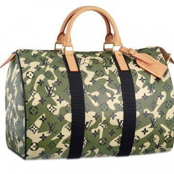 Monogramouflage Speedy 35手提包