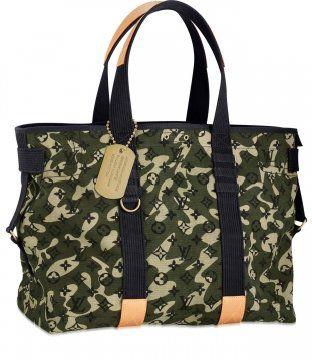 Monogramouflage Treillis手袋