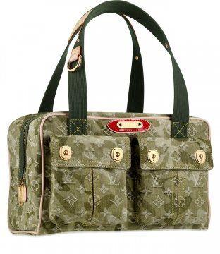 Monogramouflage Denim jasmine手提包
