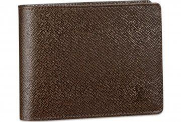 Taiga皮革系列6个信用卡格纸钞夹