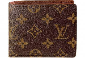 Monogram帆布系列9卡位皮夹