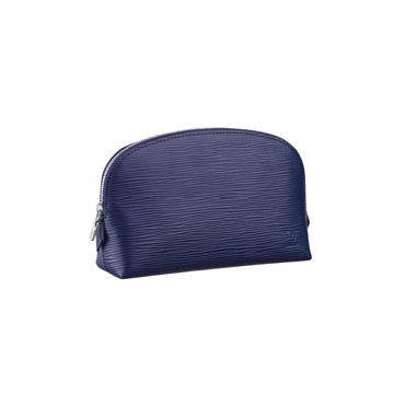 靛蓝色皮革钱包