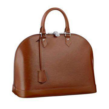棕色皮革手提包