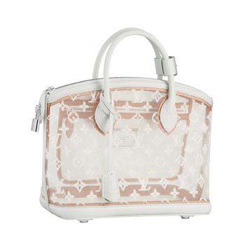 白色刺绣手提包