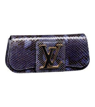 2011烟蓝色蟒纹手拿包