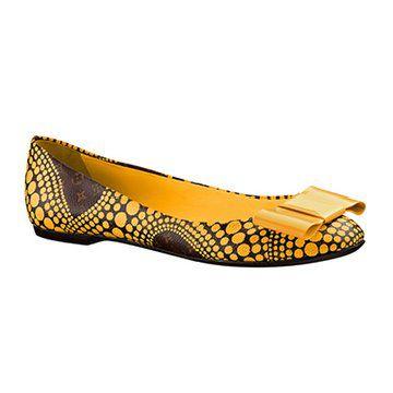 草间弥生系列波点平底鞋