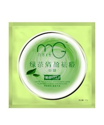 美即绿茶清盈祛痘面膜