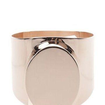 贝壳褐色金属手环
